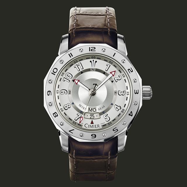Seven Seas Blue Marlin Day Date - Luxusné švajčiarske hodinky CIMIER ... 8c672ae2d2f